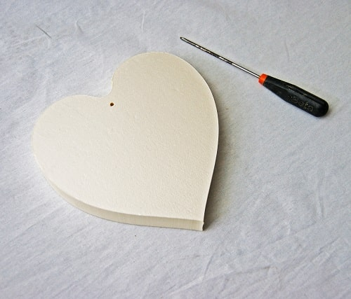 trou coeur polystyrène