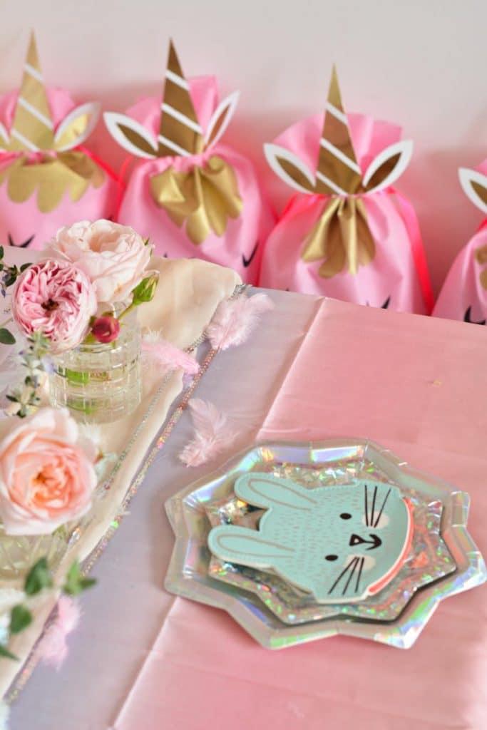 assiette-décoration-anniversaire-enfant-licorne
