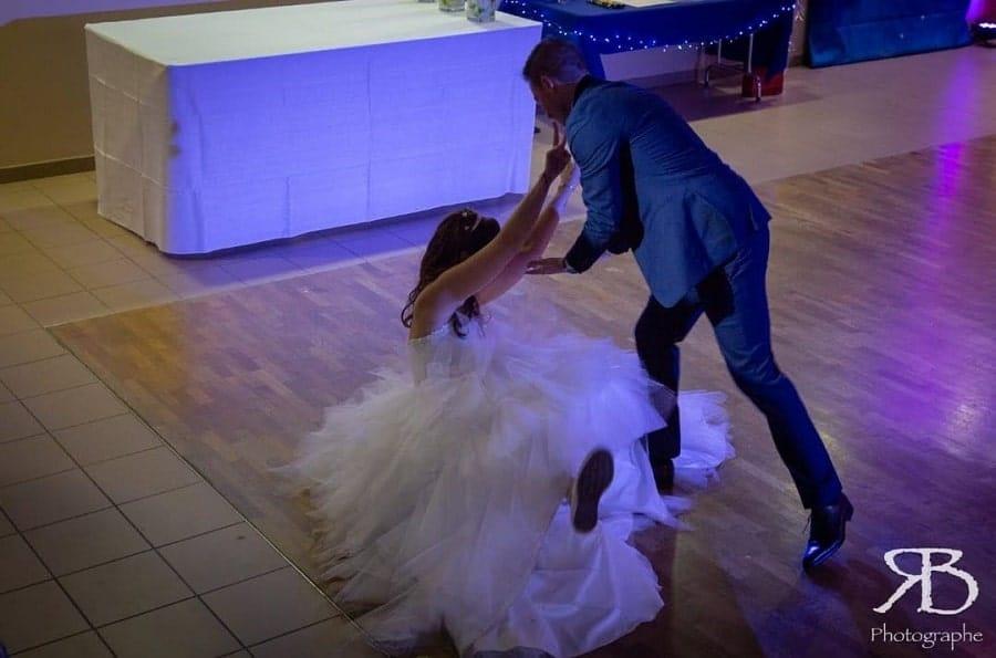 chute mariée couac mariage