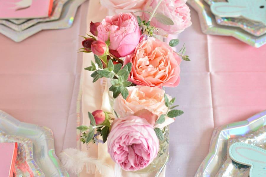 fleurs-déco-anniversaire-fille-licorne