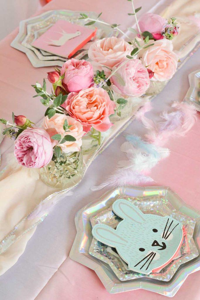 jolie-décoration-anniversaire-fille-licorne