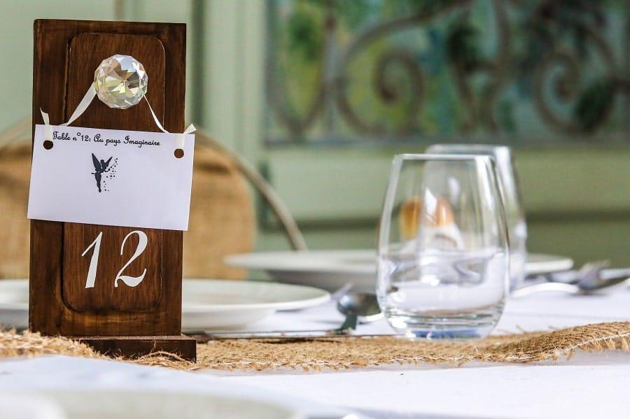 décoration table alice au pays des merveilles