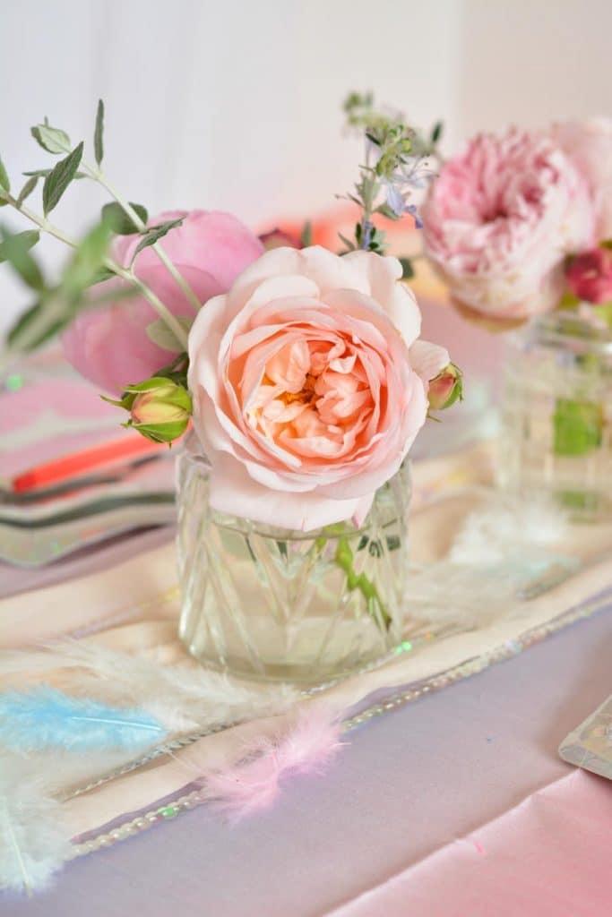 rose-décoration-anniversaire-enfant-licorne
