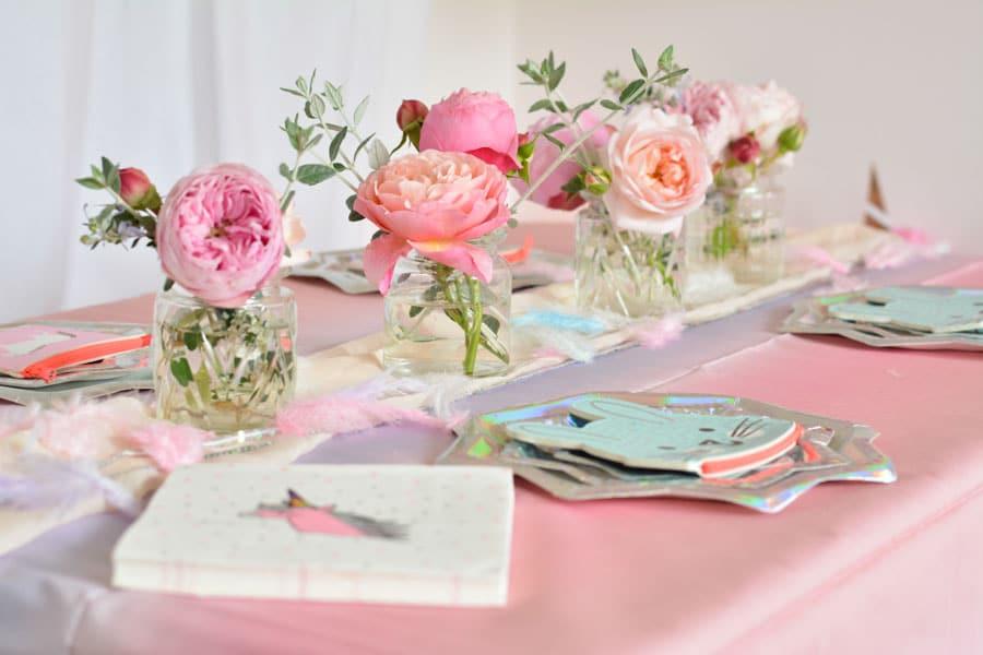 décoration licorne anniversaire