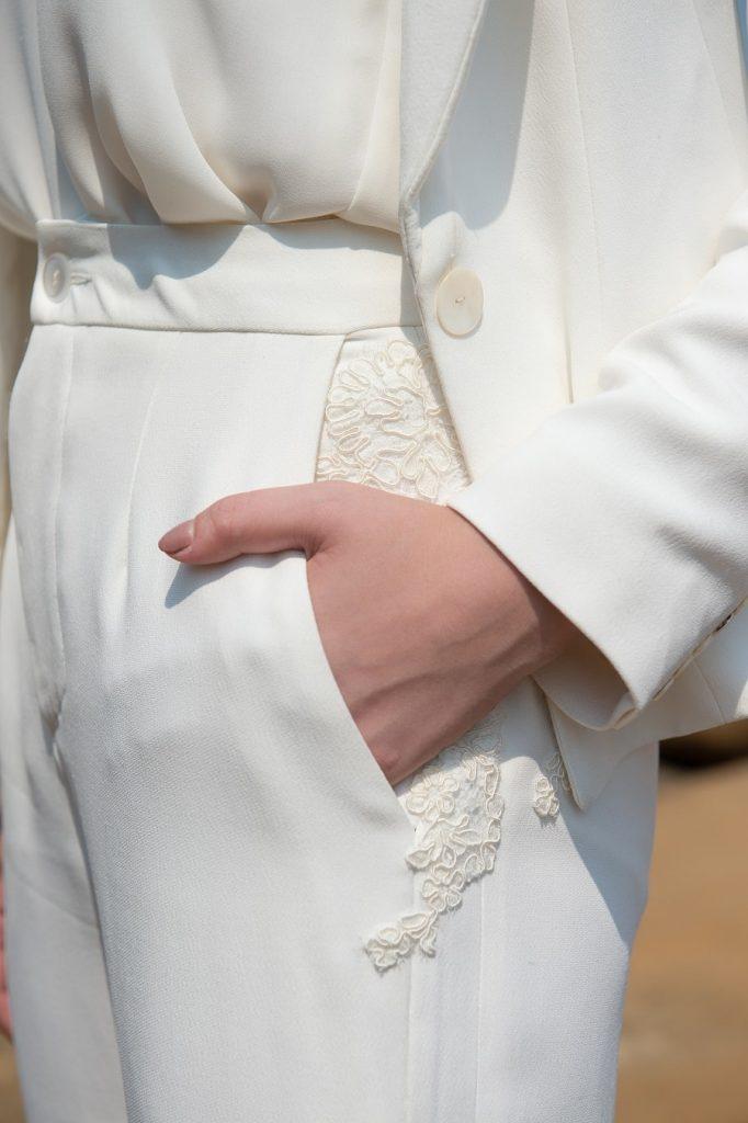 robe de mariée galatée couture