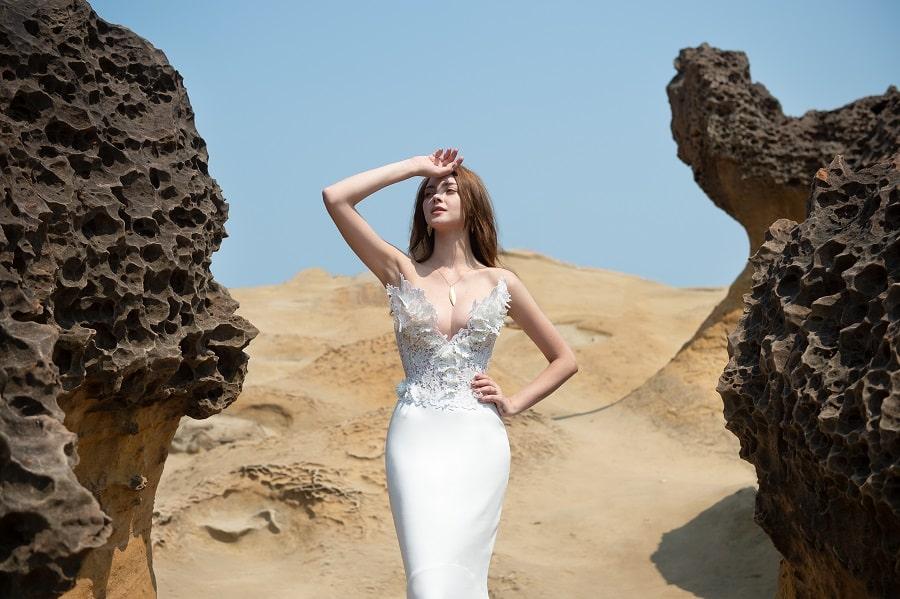robe de mariée galatée couture 2020