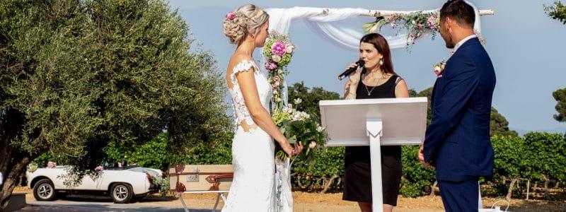 Camille L. Wedding Planner & Officiante cérémonie laïque
