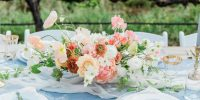 Tendance déco Mariage : le chemin de table en tissu