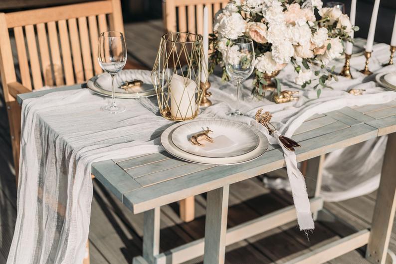 chemin de table mariage