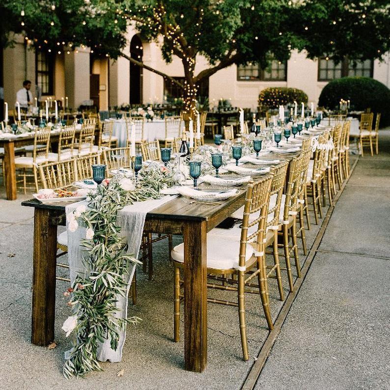 tissu chemin de table décoration chic