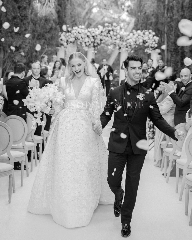 Real Wedding - Sophie-turner-joe-jonas