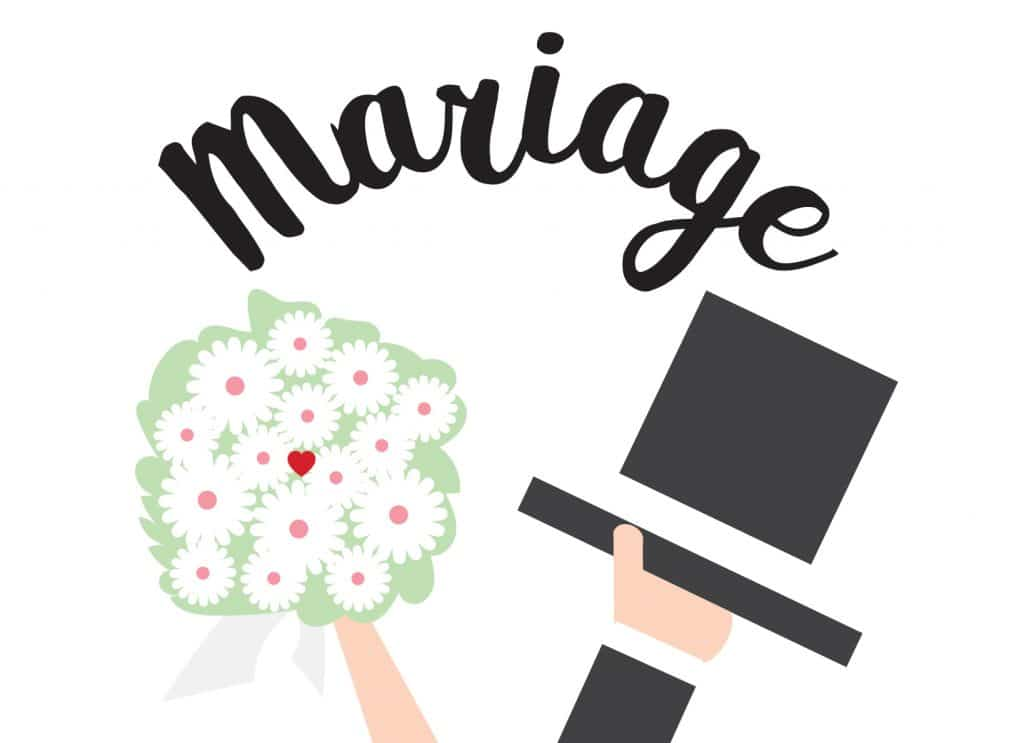 timbre mariage