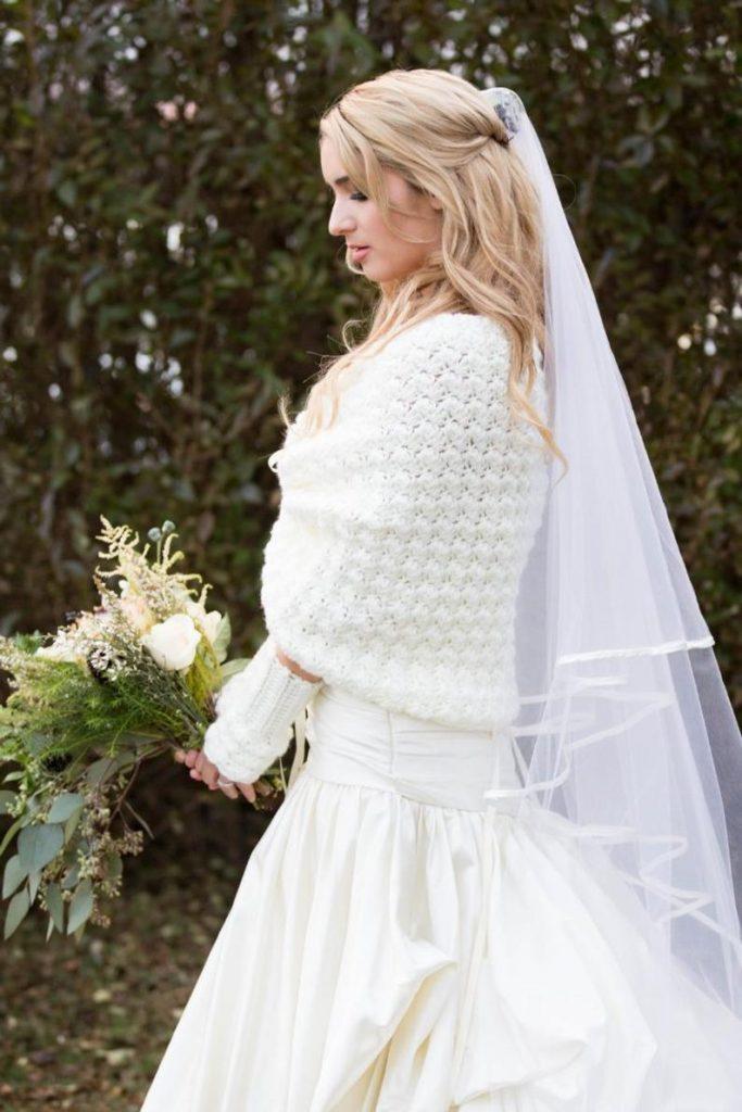 Pull mariée
