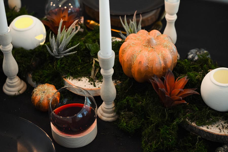 chemin de table halloween