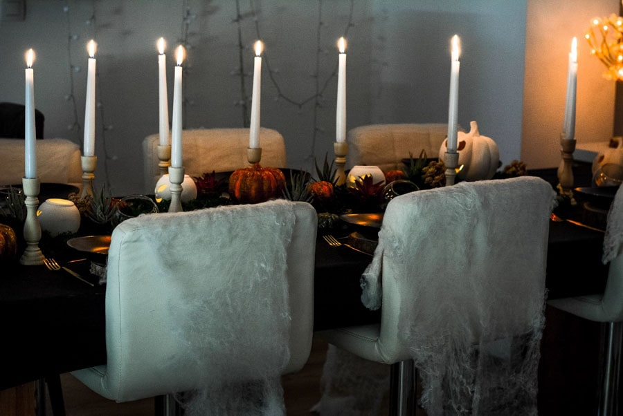 table halloween originale