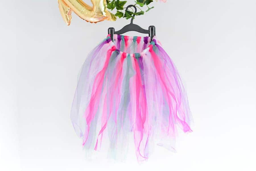 DIY jupon tulle enfant