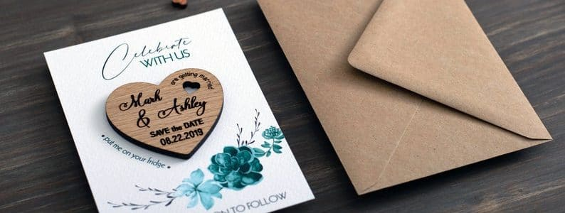 save the date mariage magnet