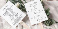 20 idées pour vos livrets de mariage
