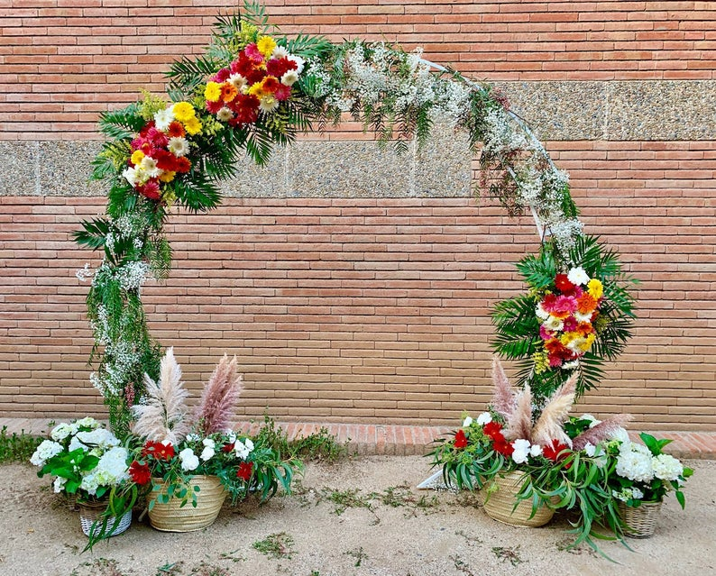 décoration arche cérémonie laïque
