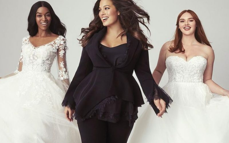 Ashley Graham x Pronovias : la fin du body shaming pour les robes de mariée ?