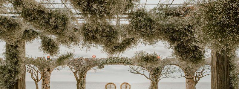 décoration mariage originale suspension