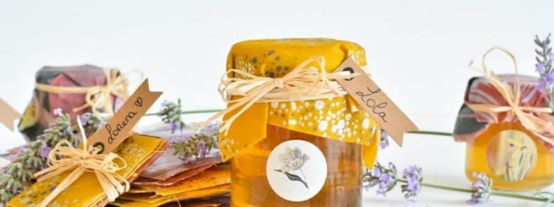blog DIY Bee wraps cadeau mariage