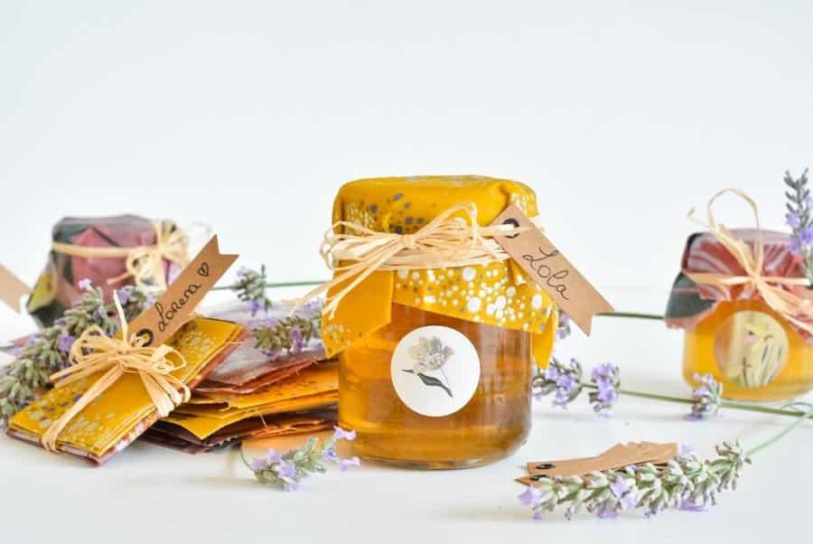 DIY Bee wraps cadeau mariage
