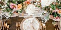 12 étapes pour designer de votre décoration de table