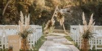 {Tendance} Une décoration de mariage en fleurs séchées