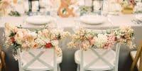 Comment décorer ses chaises de mariage ?