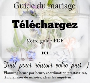 guide jour mariage