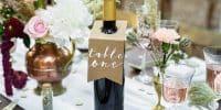 #inspiration : un mariage sur le thème du vin