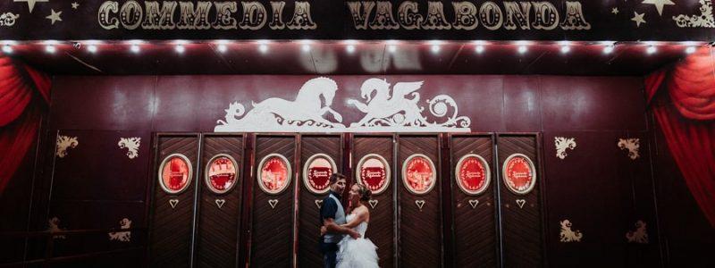 mariage thème cirque blog mariage