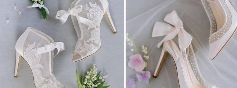 chaussures de mariée dentelle shopping