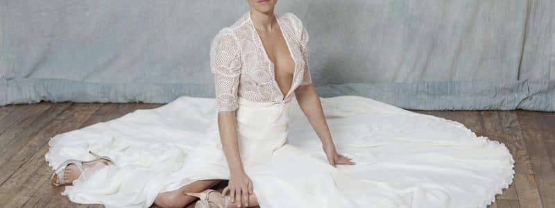 Edith Bréhat : créatrice de robe de mariée sur-mesure