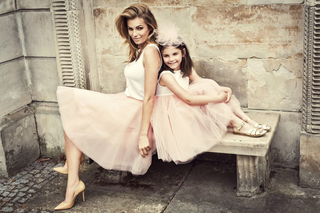 tenues assorties mère-fille