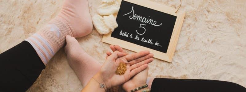 grossesse - semaine 5