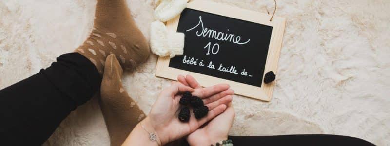 grossesse - semaine 10
