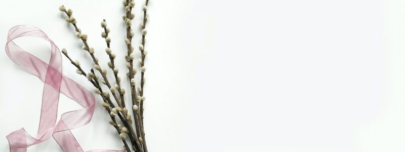 green flower bouquet on white background