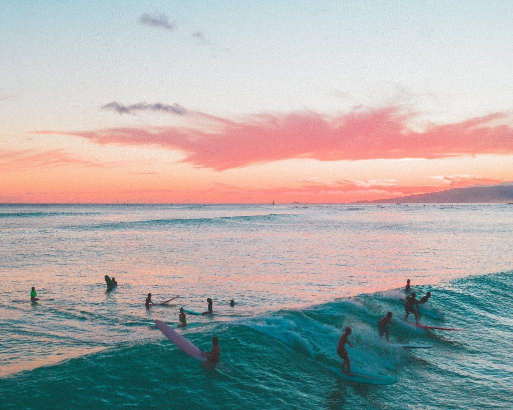 cours de surf enterrement de vie de jeune fille