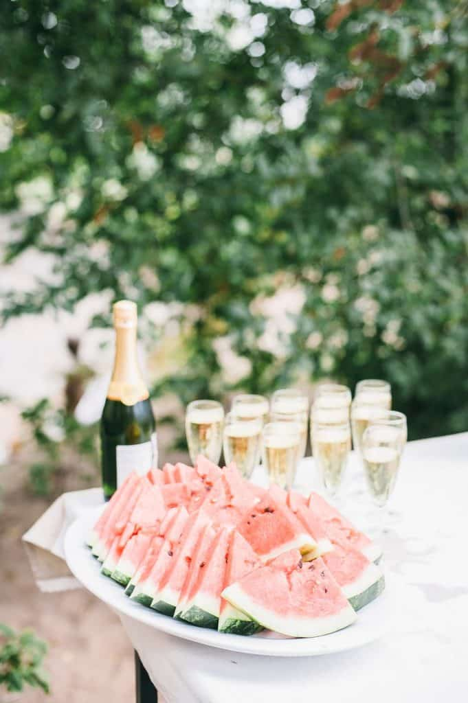 champagne mariage pas cher