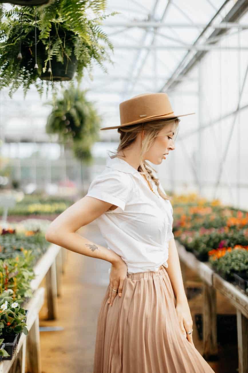 nature fashion people woman