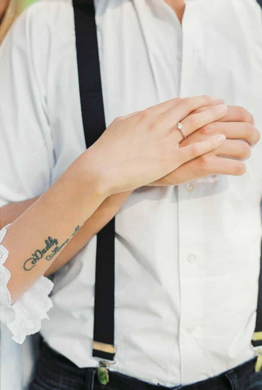 fashion man hands love