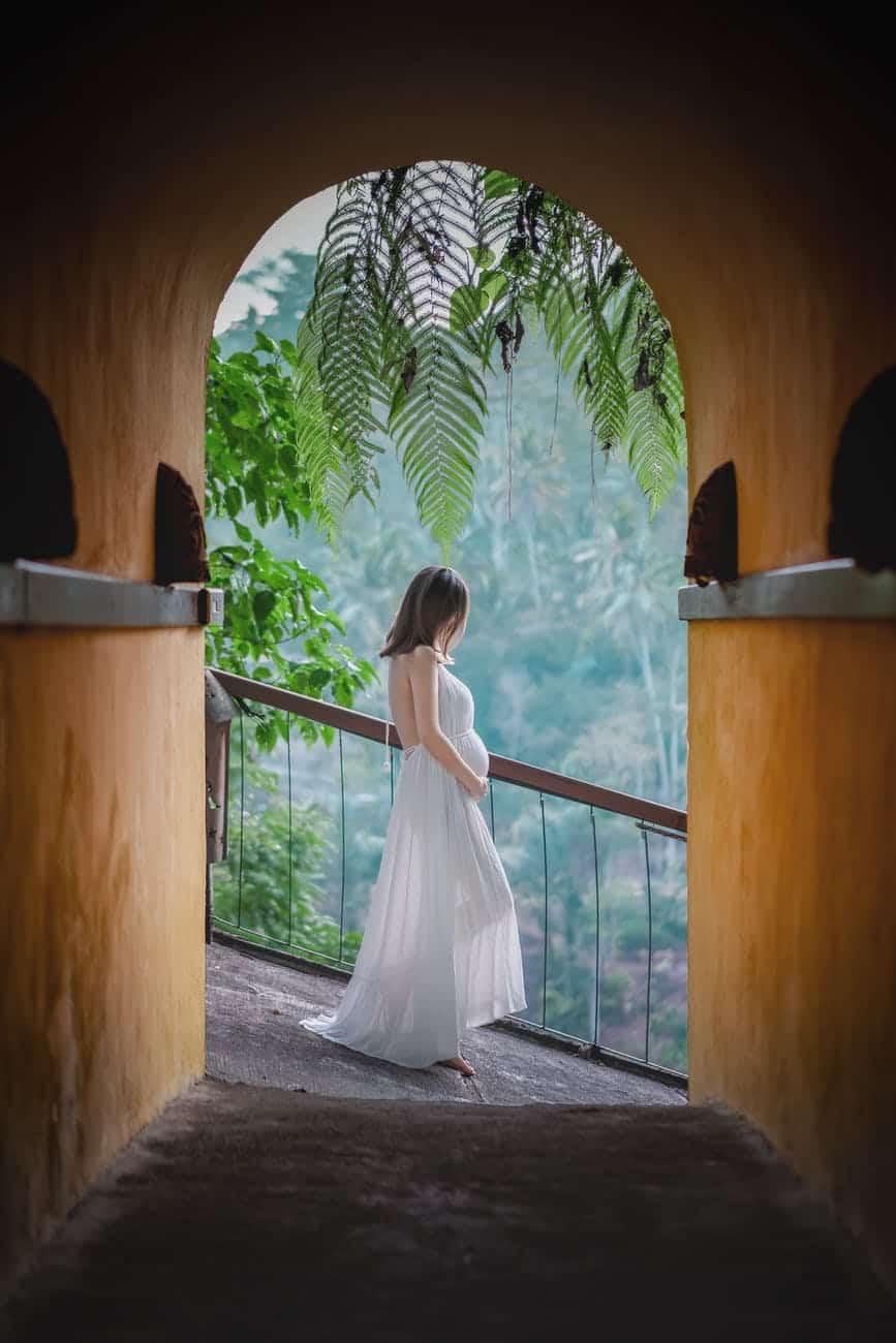 robe de mariée second trimestre grossesse