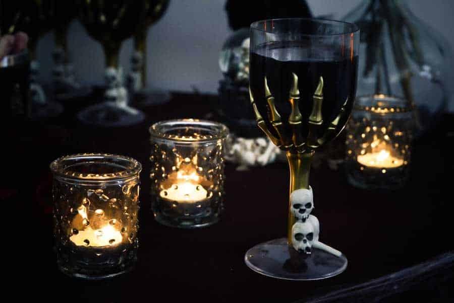 décoration halloween la mariée en colère
