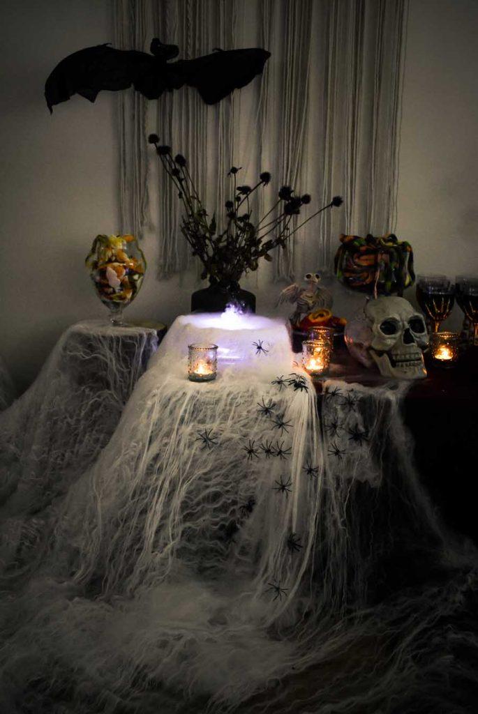 déco halloween la mariée en colère
