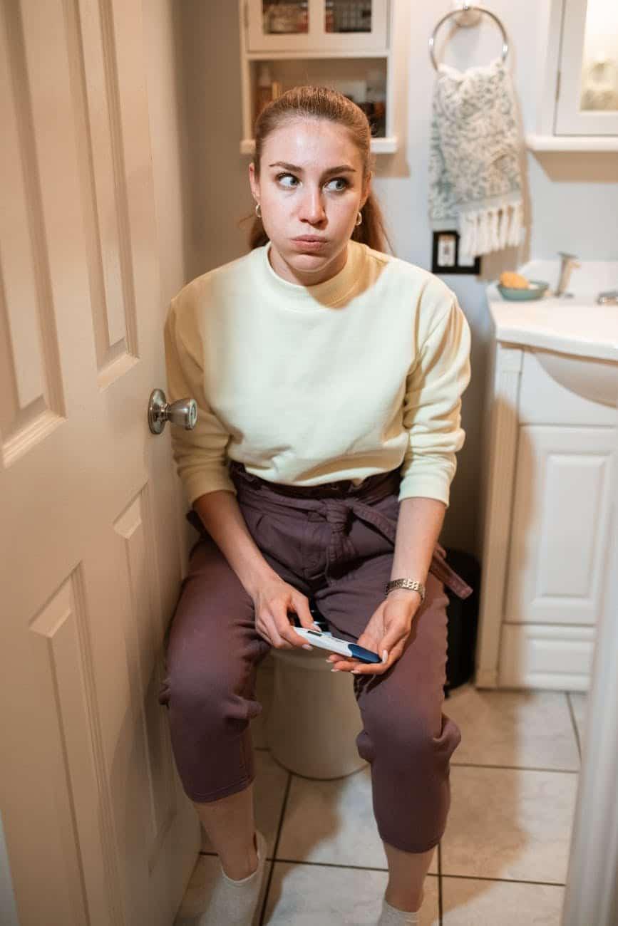 étapes pour faire un test de grossesse